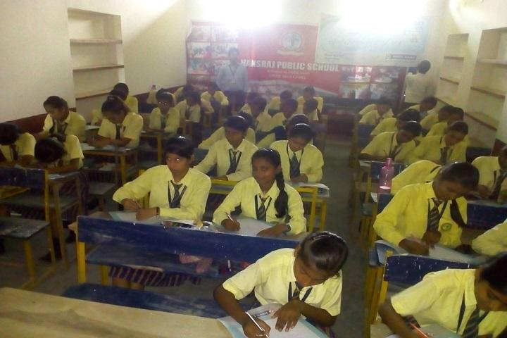 Hansraj Public School-Classroom