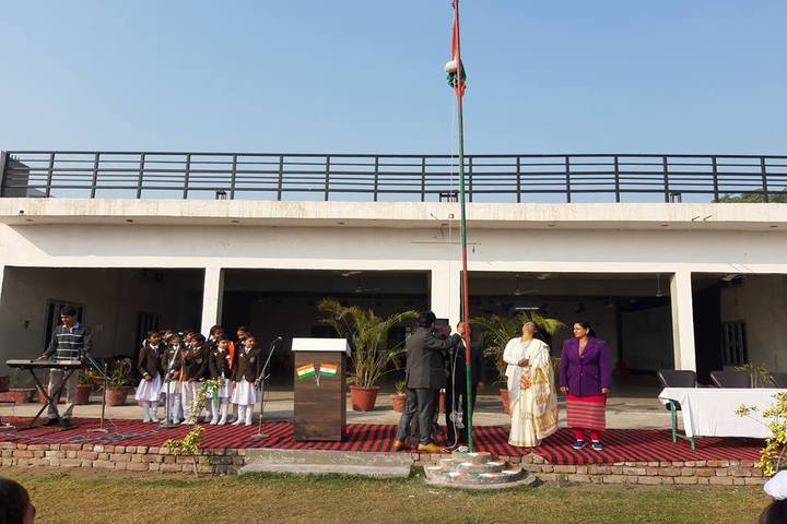 D A V Public School-Independence Day