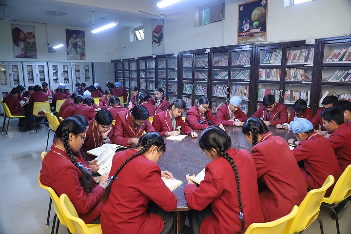 D C Model Senior Secondary School-Library