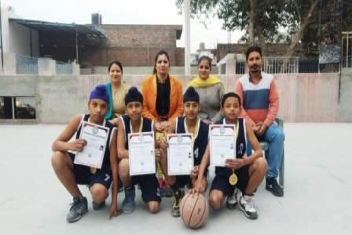 D G S G Public School-Sports