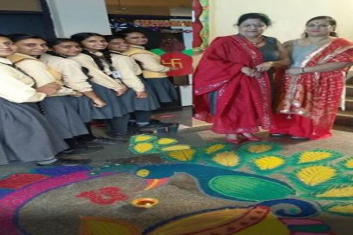 Darrick International School-Rangoli