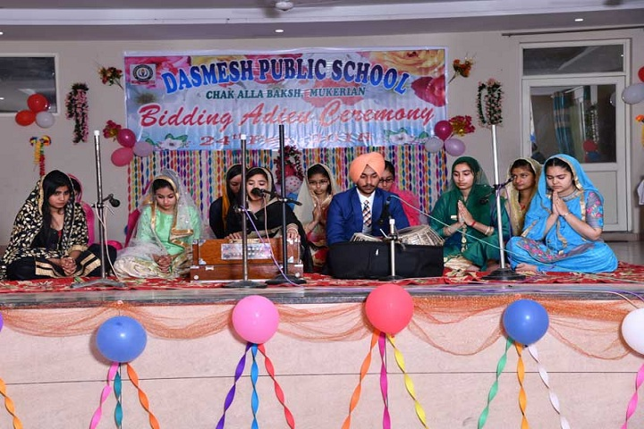 Dasmesh Public School-Farewell Party