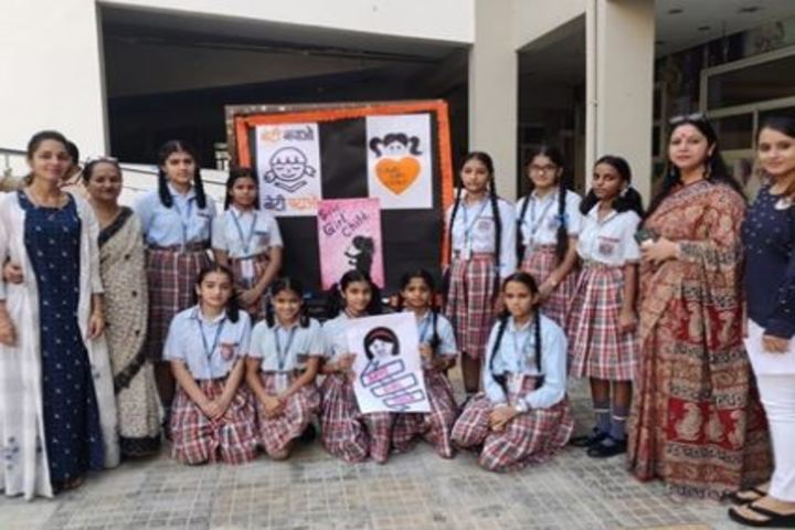 Dass And Brown World School-Save Girl Child