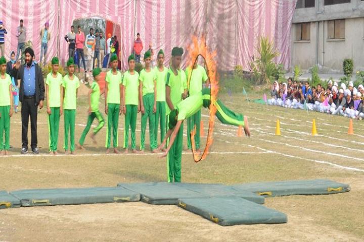 Data Bandhi Chhod Public School-Gymnastics