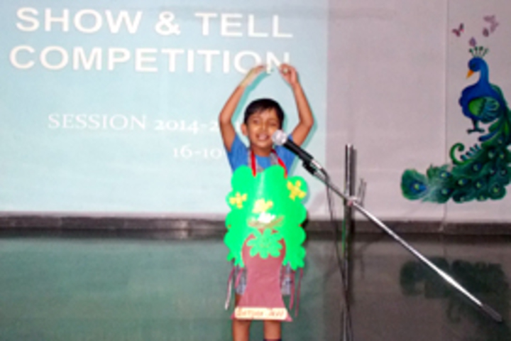 DAV Global School-Show And Tell Competition