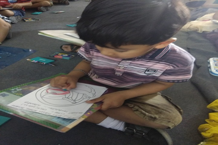DAV Senior Secondary Public School-Drawing Competition