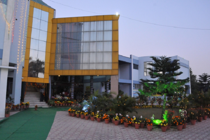 Dav Public Senior Secondary School- School Campus
