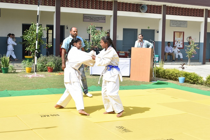 Dav Public School-Karate