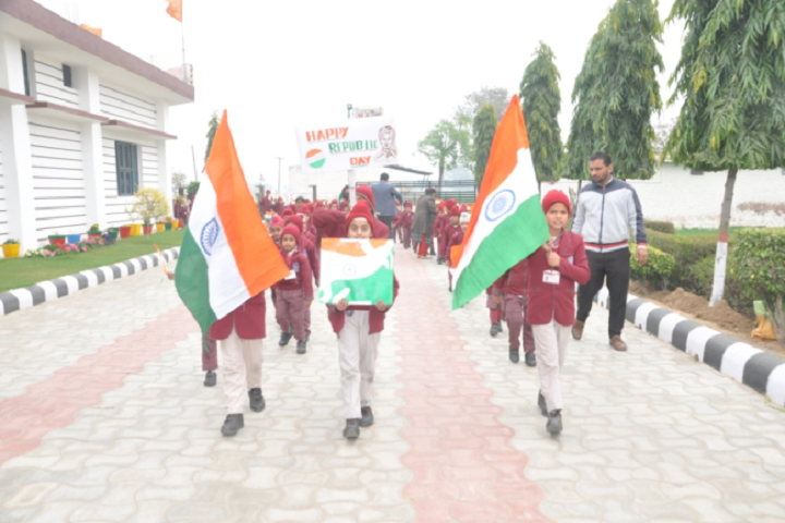 Dav Public School-Republic day Celebration