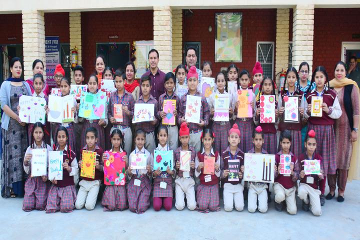 Dav Public Senior Secondary School-Art Education