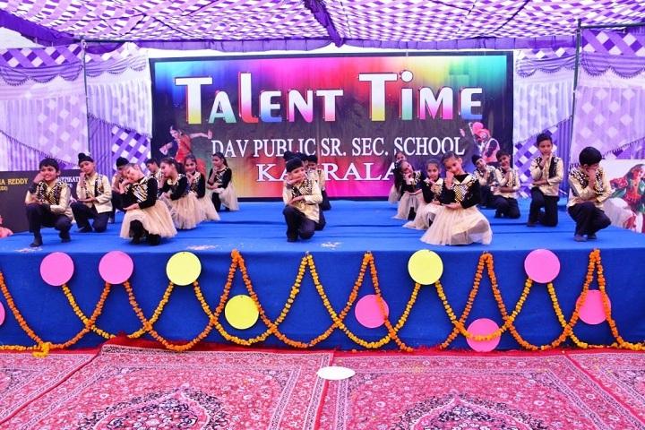 Dav Public Senior Secondary School-Dance