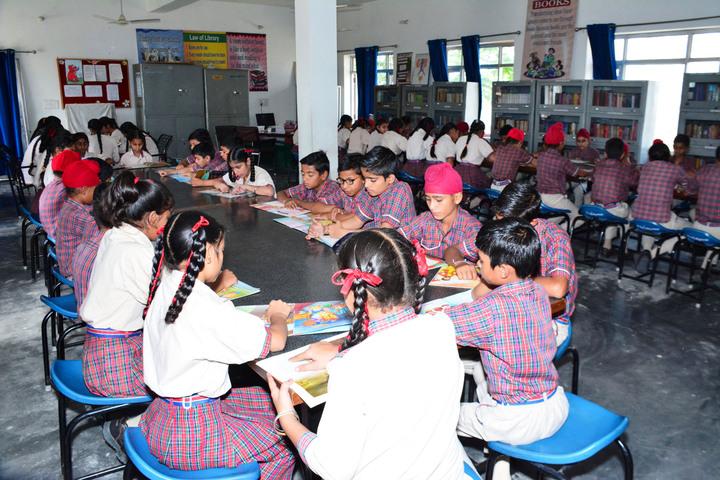 Dav Public Senior Secondary School-Library