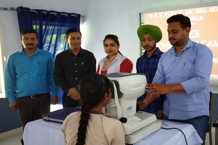 Dav Public Senior Secondary School-Medical Facility