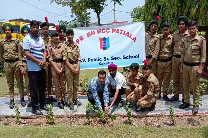 Dav Public Senior Secondary School-Plantation