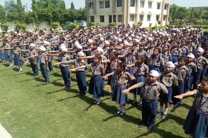 Dawindra International Public School-Assembly