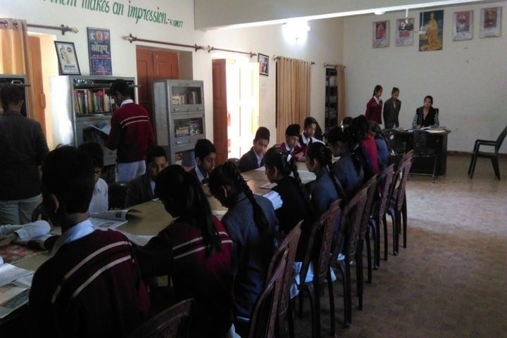 Dayanand Chanan Lal Senior Secondary School-Library