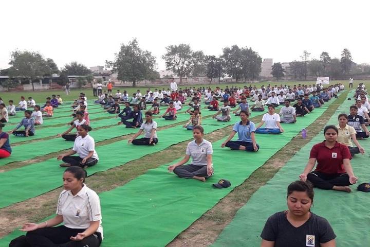 Dayanand Model Senior Secondary School-Yoga
