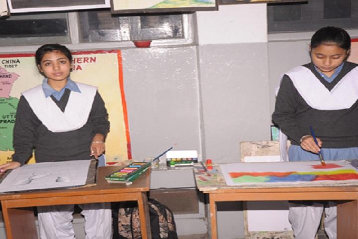 Dayanand Public School-Art room