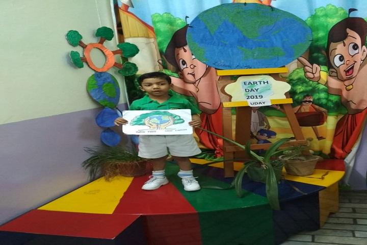 Dayanand Public School-Earth day Celebration