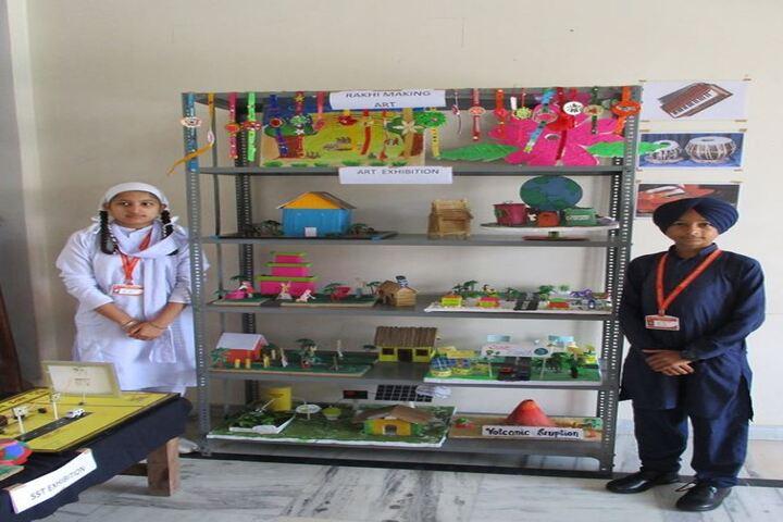 Deewan Toddar Mall Public School-Art Exhibition