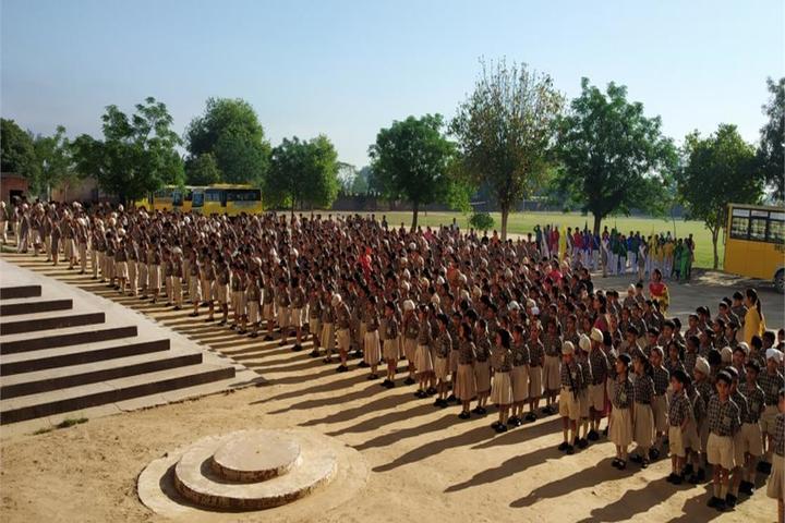 Delhi International School-Morning Assembly