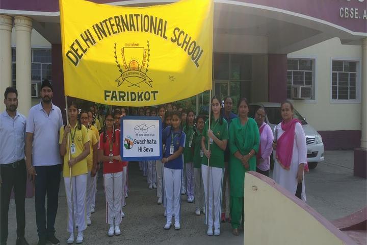 Delhi International School-Ralley