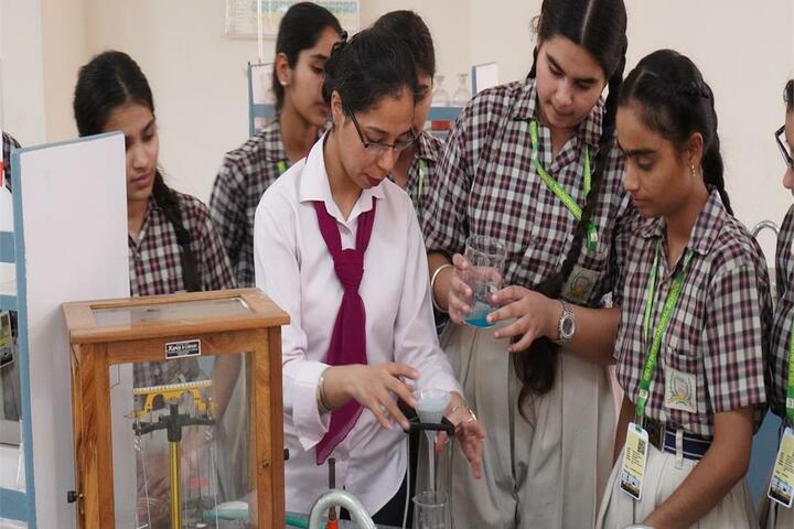 Delhi International School-Chemistry Lab