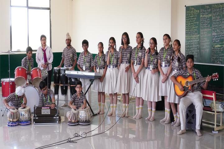 Delhi International School-Music Class