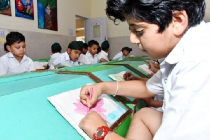 Delhi Public School-Drawing