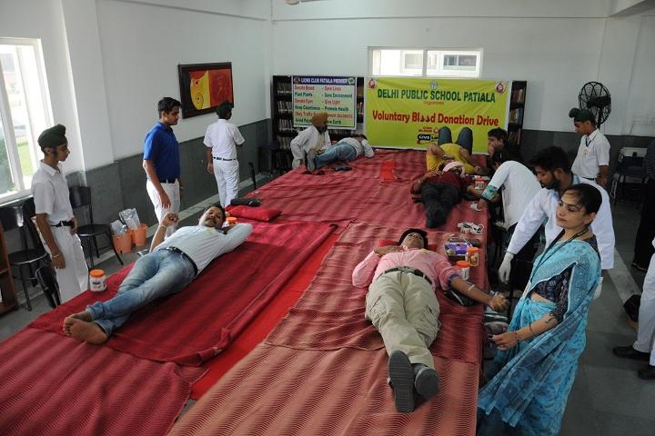 Delhi Public School-Blood Donation Camp