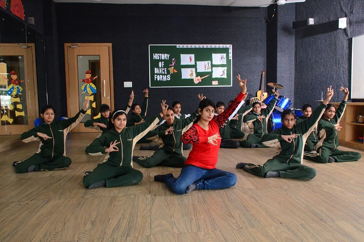 Delhi Public School-Dance room