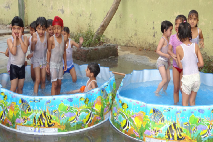 DRV DAV Centenary Public School- Spalsh Pool