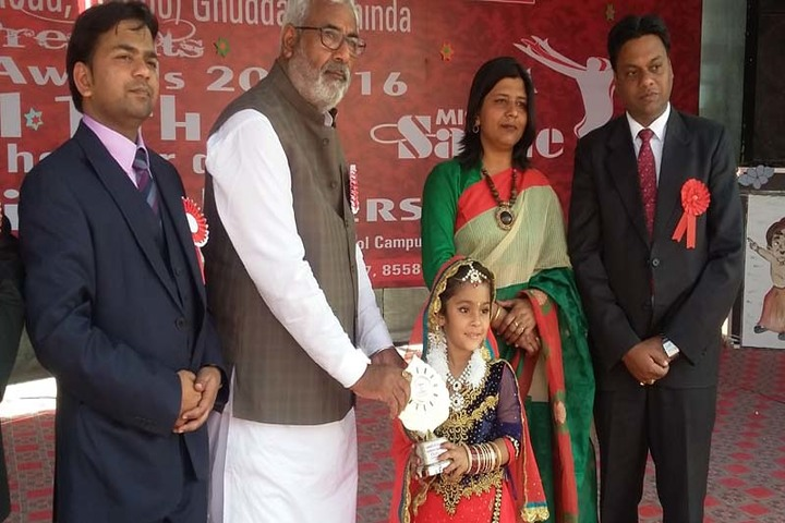 Different Convent School-Award