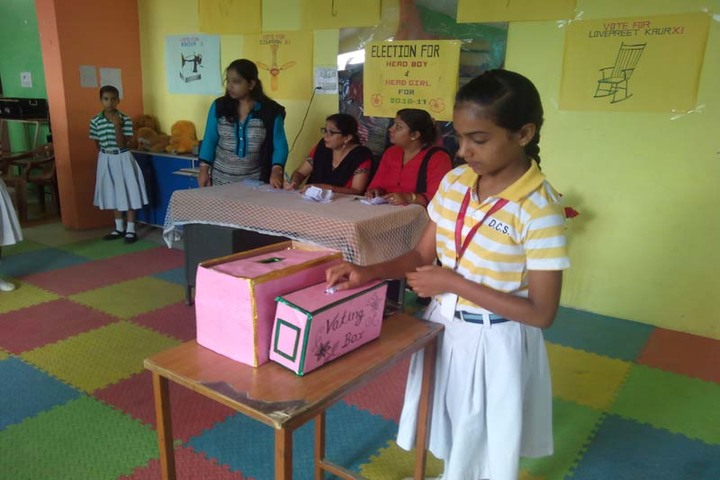 Different Convent School-Election Voting