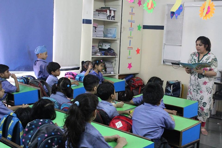 Dikshant International School-Classrooms