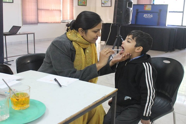 Dikshant International School-Medical Checkup