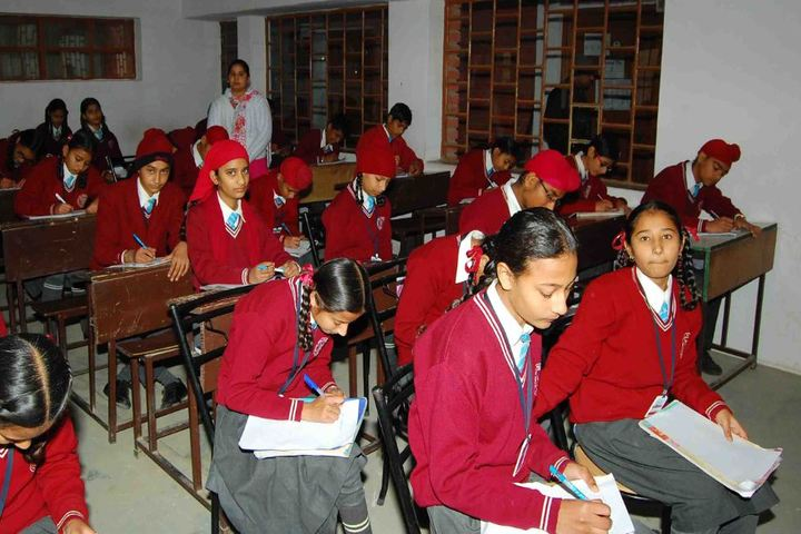 Divine Will Public School-Classrooms