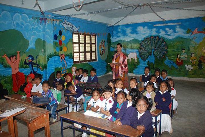 Alluri Sitaramaraju Public School-Classroom