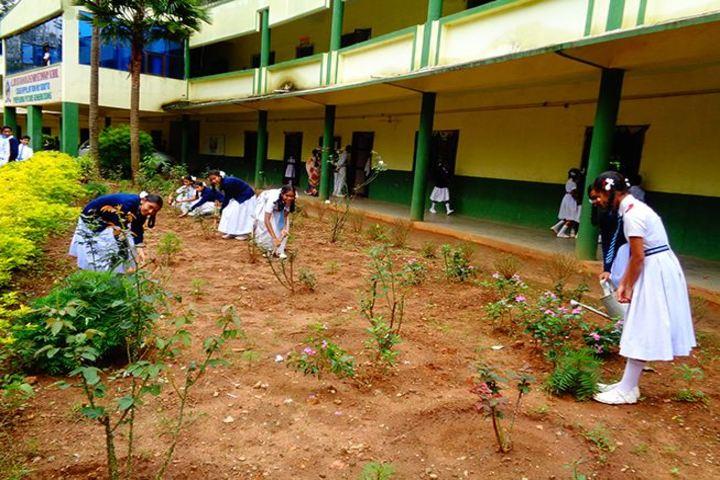 Alluri Sitaramaraju Public School-Garden