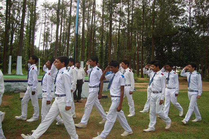 Alluri Sitaramaraju Public School-March Past