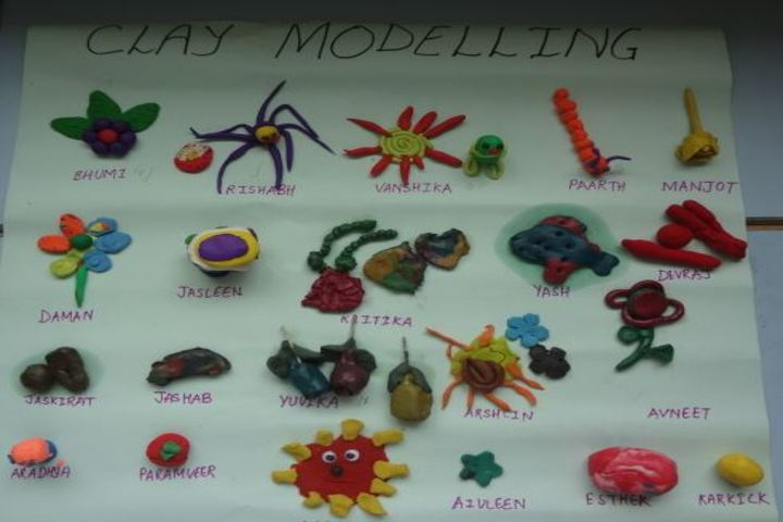 Don Bosco Senior Secondary School-Clay Modelling
