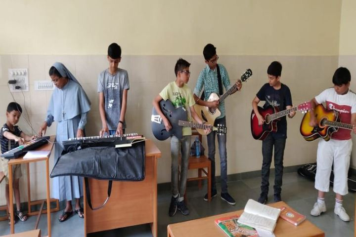 Don Bosco Senior Secondary School-Music