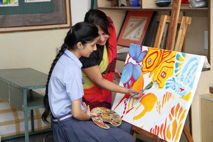 Doon International School-Art