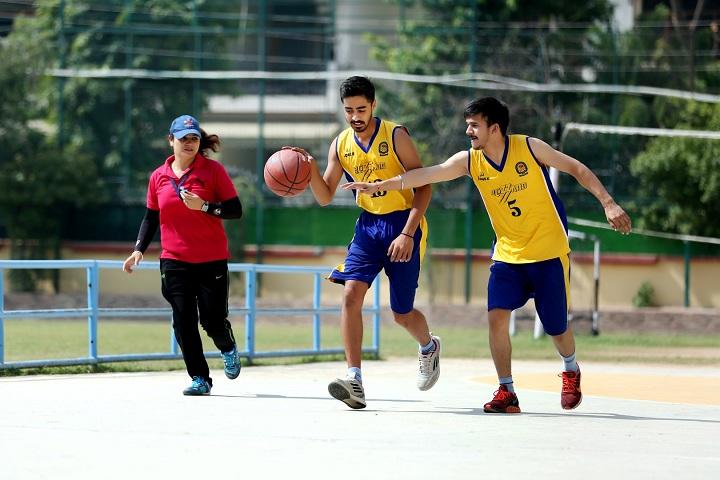 Doon International School-Basket Ball