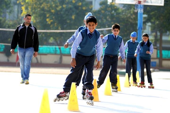 Doon International School-Skating