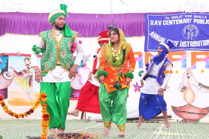 Dr Daulat Ram Bhalla Dav Centenary Public School-Dance