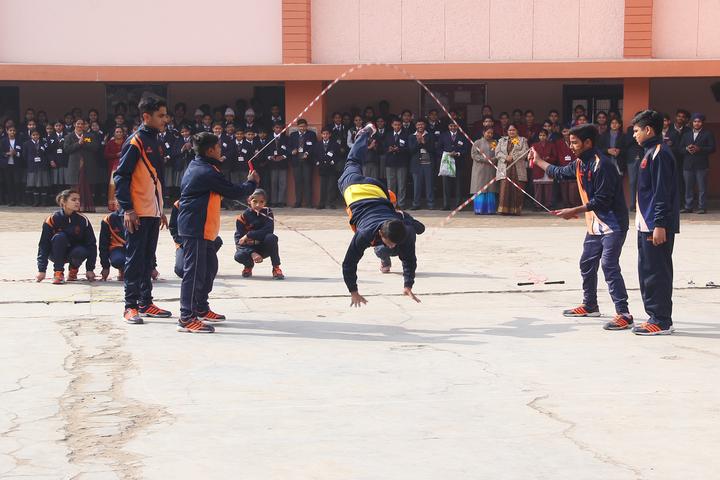 Dr Daulat Ram Bhalla Dav Centenary Public School-Games