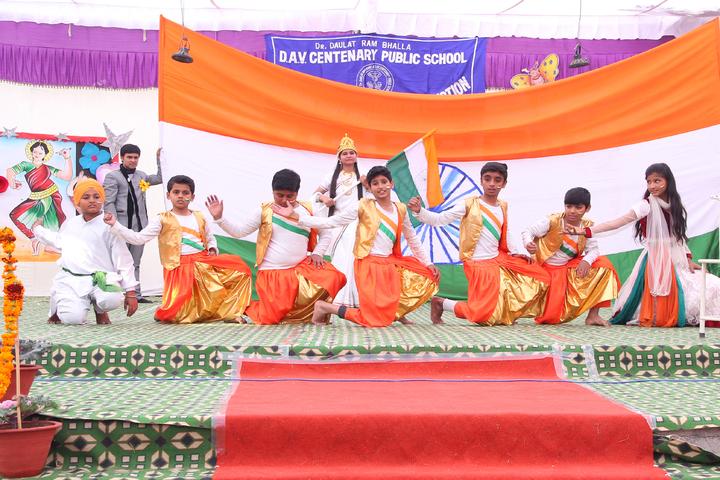 Dr Daulat Ram Bhalla Dav Centenary Public School-Republic day Celebration
