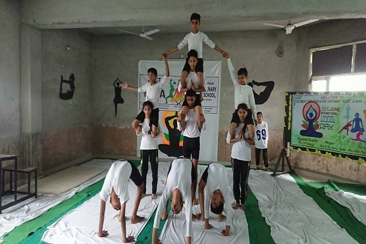 Dr Daulat Ram Bhalla Dav Centenary Public School-Yoga day