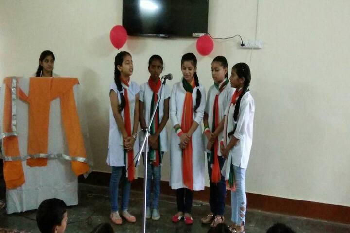 Dr MCM DAV Public School-Singing
